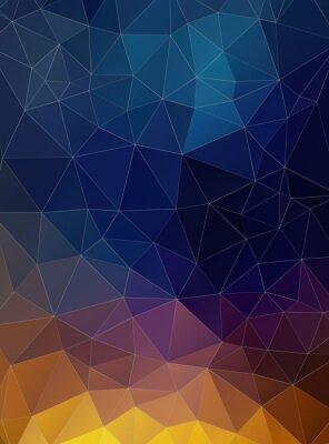 Fototapeta Trójkąt płaski geometryczne kolorowe tło