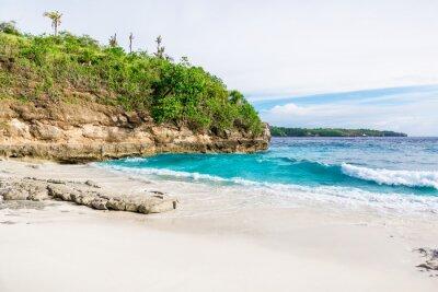 Fototapeta Tropical biały piasek plaży