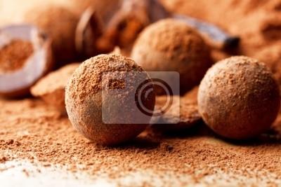Fototapeta Trufle czekoladowe