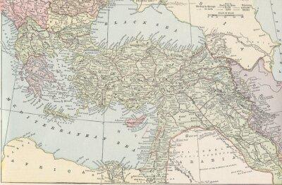 Fototapeta Turecki Imperium rocznika