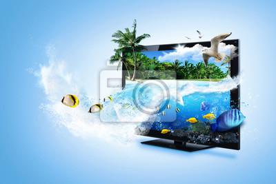 TV 3D - poczuj naturę