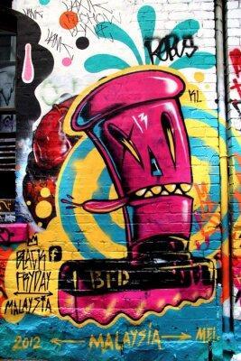 Fototapeta Ulica LA, Melbourne