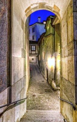 Fototapeta Ulica w starego miasta, Genewa, Szwajcaria