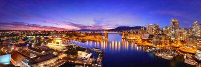 Fototapeta Vancouver Harbor View