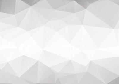 Fototapeta Vector streszczenie szare trójkąty tła