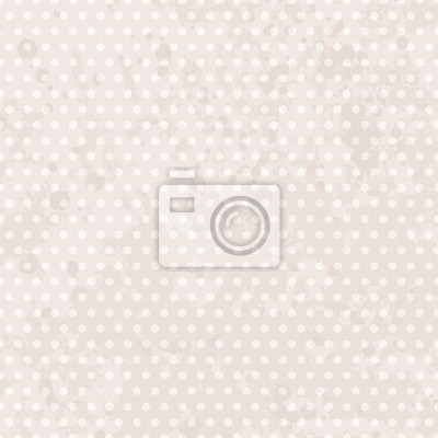 Fototapeta Vintage background dots. Pastel seamless pattern