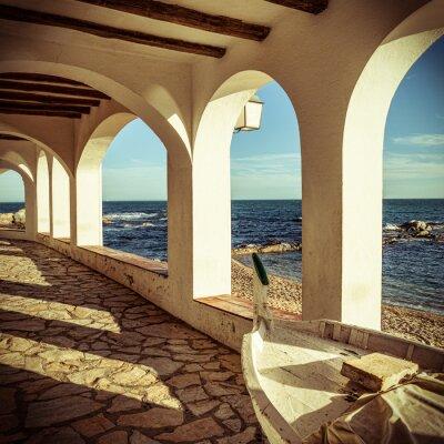 Fototapeta Vintage, Costa Brava