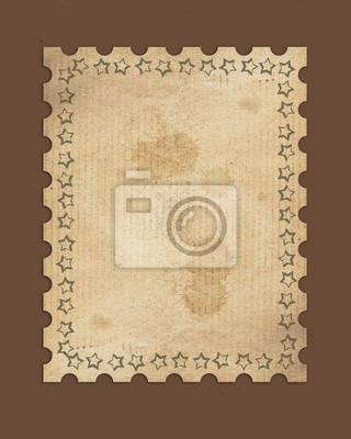 Fototapeta vintage znaczek