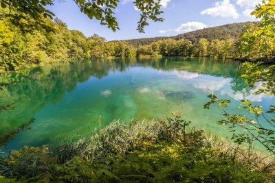 Fototapeta Virgin charakter Park Narodowy Jeziora Plitwickie, Chorwacja