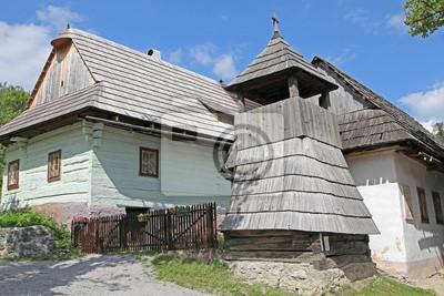 Vlkolinec - malownicza wieś historyczna, Słowacja