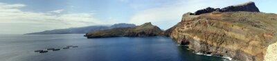 Fototapeta Wanderung auf der Peninsula Ponta de Lourenco
