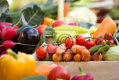 Fototapeta Warzywa ekologiczne