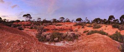 Fototapeta Waszyngton Balladonia Red Soil 2 Panorama