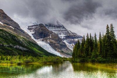 Fototapeta Wędrówka Berg Lake Trail