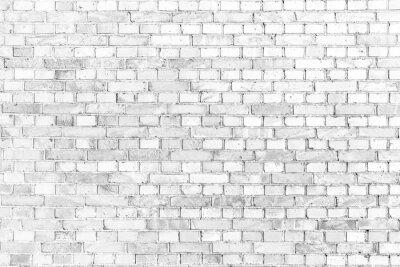 Fototapeta Weisse ziegelmauer