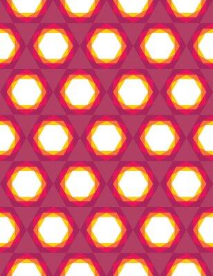 Fototapeta Wektor bez szwu kolorowe nowoczesna geometria wzór trójkąta wielokąta, kolor fioletowy abstrakcyjne geometryczne tło, trendy wielobarwny druk, retro tekstury, projektowanie mody hipster
