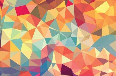 Fototapeta Wektor geometryczne kształty. Kolorowe tło. Tekstury do wykorzystania w