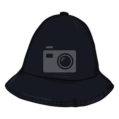 3170e5ff0a9687 Fototapeta Wektor pojedynczy kapelusz wiadro kreskówka. Czapka hip-hop.