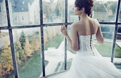Fototapeta White Bride