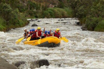 Fototapeta Whitewater Rafting Adventure
