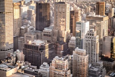 Fototapeta Widok budynków w całym Nowym Jorku