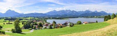 Fototapeta Widok Hopfen am See im Allgäu