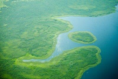 Fototapeta Widok z lotu ptaka Nilu