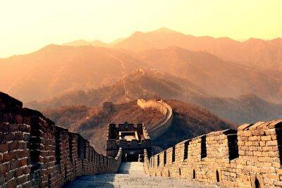 Fototapeta Wielki Mur rano