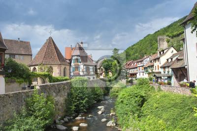 Fototapeta Wieś de Kaysersberg