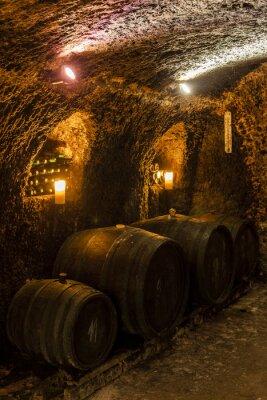 Fototapeta Wine Cellar w Wielkiej tRNA, Tokaj Wine Region, Słowacji