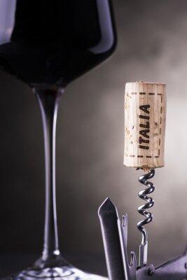 Fototapeta wino włoski