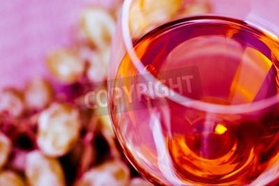 Fototapeta Winogronowy i wino