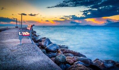 Fototapeta Wschód słońca na wyspie Kos