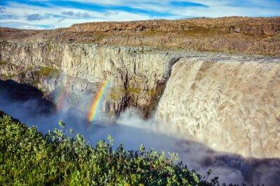 Fototapeta Wspaniały wodospad Dettifoss