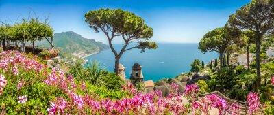 Fototapeta Wybrzeże Amalfi, Kampania, Włochy