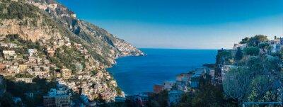 Fototapeta Wybrzeże Amalfi między Neapolem i Salerno. Włochy