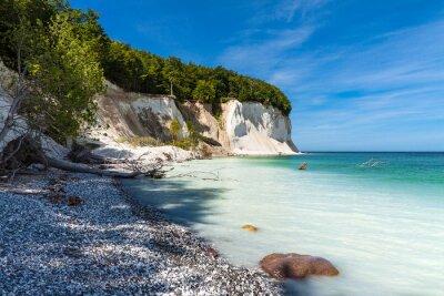 Fototapeta Wybrzeże Bałtyckie na wyspie Rugii