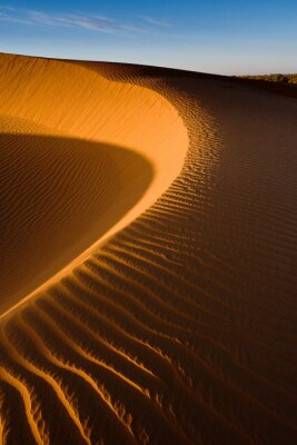 Fototapeta Wydmy Mhamid, Sahara, Maroko