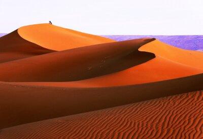Fototapeta Wydmy w Sahary, w Afryce