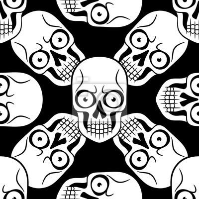 Wzór Czaszki Tatuaż Fototapeta Fototapety Myloviewpl