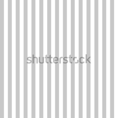 Fototapeta Wzór w paski bezszwowe szary i biały kolor. Vertical wzoru lampasa tła abstrakcjonistyczny wektor.