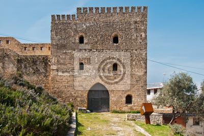 Fototapeta Xativa Castle, Walencja, Hiszpania