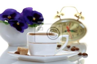 Fototapeta Утренний кофе.