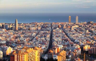 Fototapeta Pejzaż Barcelona, Hiszpania