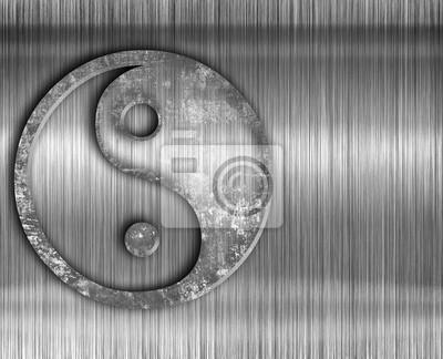 Fototapeta Yin yang symbol