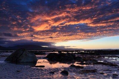 Fototapeta Zachód słońca na brzegu Acre