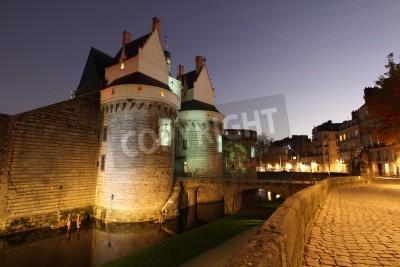 Fototapeta Zamek Książąt Bretanii (Nantes - Francja)