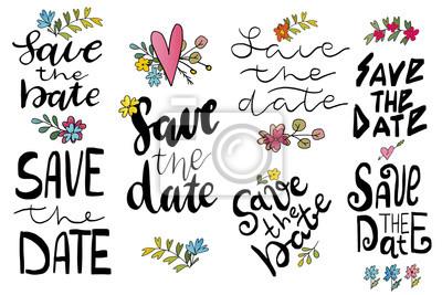 Zapisz Datę Szablony Etykiety Karty Zaproszenie Na ślub Z