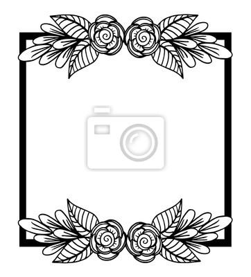 Zaproszenie Na ślub Ramka Ozdobna Motywy Etniczne Piękny Obrus