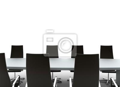 Fototapeta Zarząd stół jadalny i krzesła